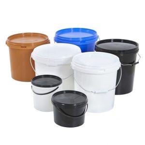 Plastic Tubs & Buckets