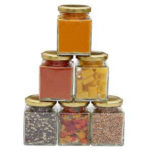Square Jars