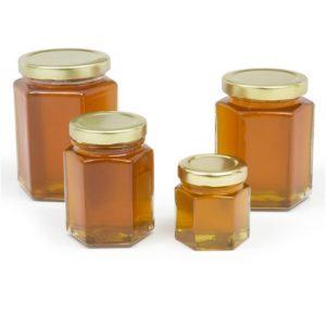 Hexagonal Jars