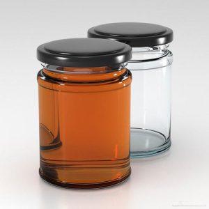Round Panel Jars